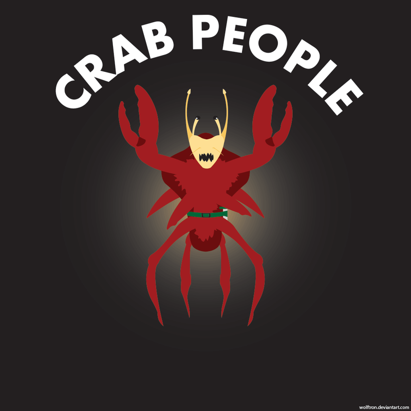 Crab Person! by WolfTron