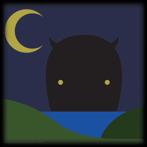 Midnight Monster Mischief by WolfTron