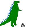 Godzilla vs King Kong by WolfTron