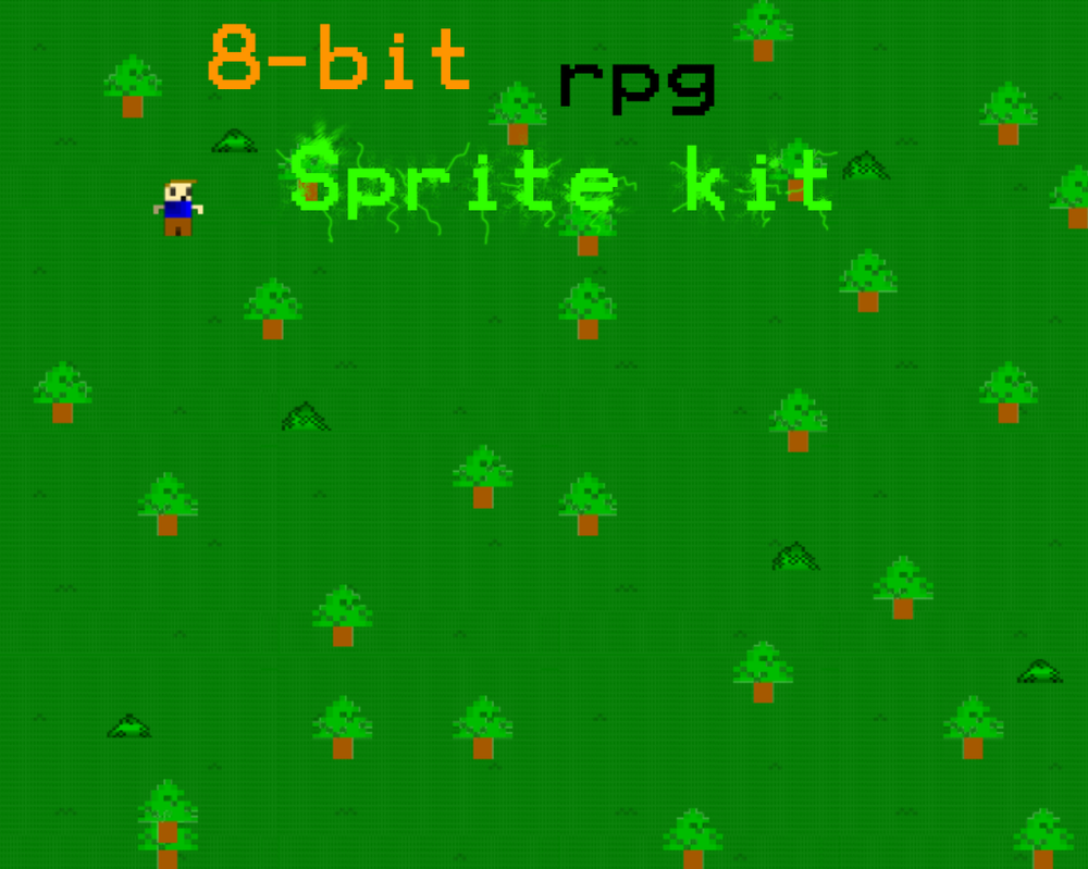 Sprite Creator 3 (Finished) XP &amp- VX | OpenGameArt.org