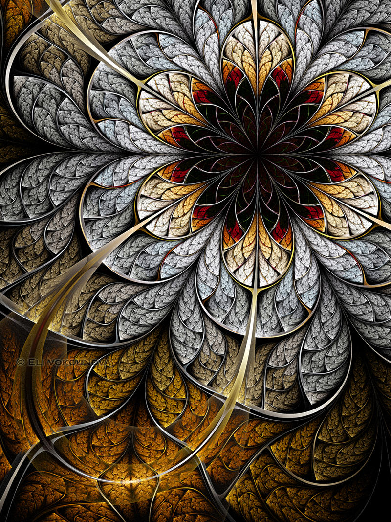 Flower II by lucid-light