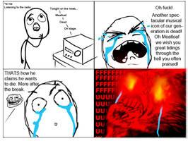 Rage comic: Meatloaf by Daz-Keaty