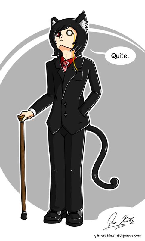 Daz keaty - Classy Cat by Daz-Keaty