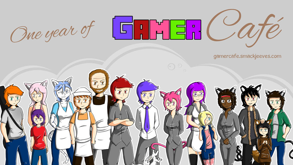 Gamer Cafe - 1 year old by Daz-Keaty