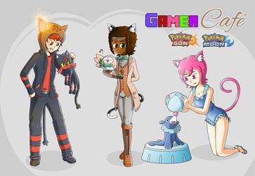 Gamer Cafe - Pokemon Sun and Moon Starters