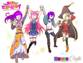 Gamer Cafe - Konosuba Cosplay