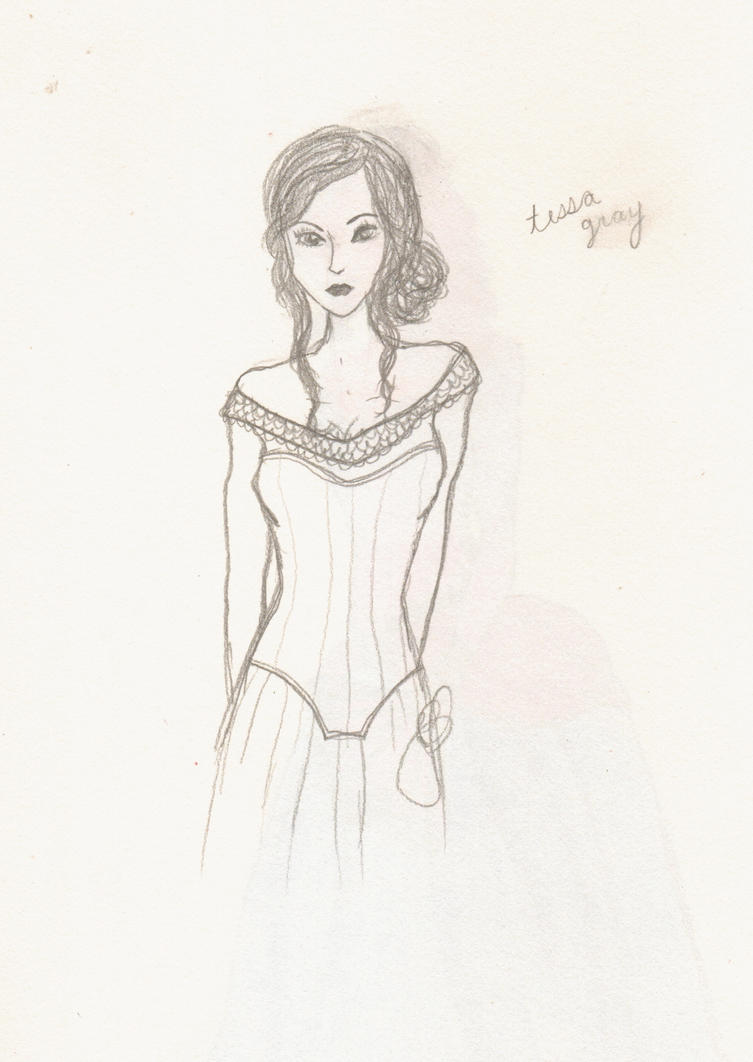 Tessa Gray Sketch by Jakeblacksgirl on DeviantArt