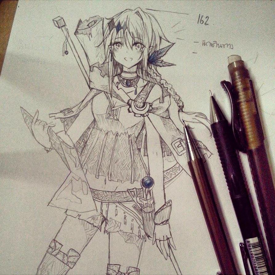OC_APFE by URenAkamatsu