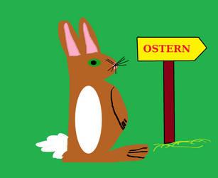 Easter Rabbit by RogerSandega