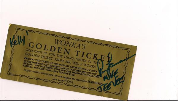 Golden Ticket by kkofthefunkoff