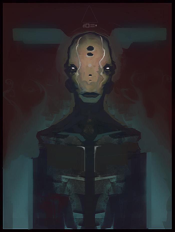 Alien1 by daGohs