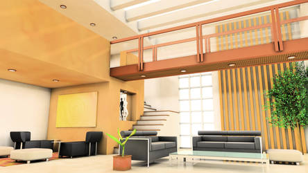 Interior- Living Room