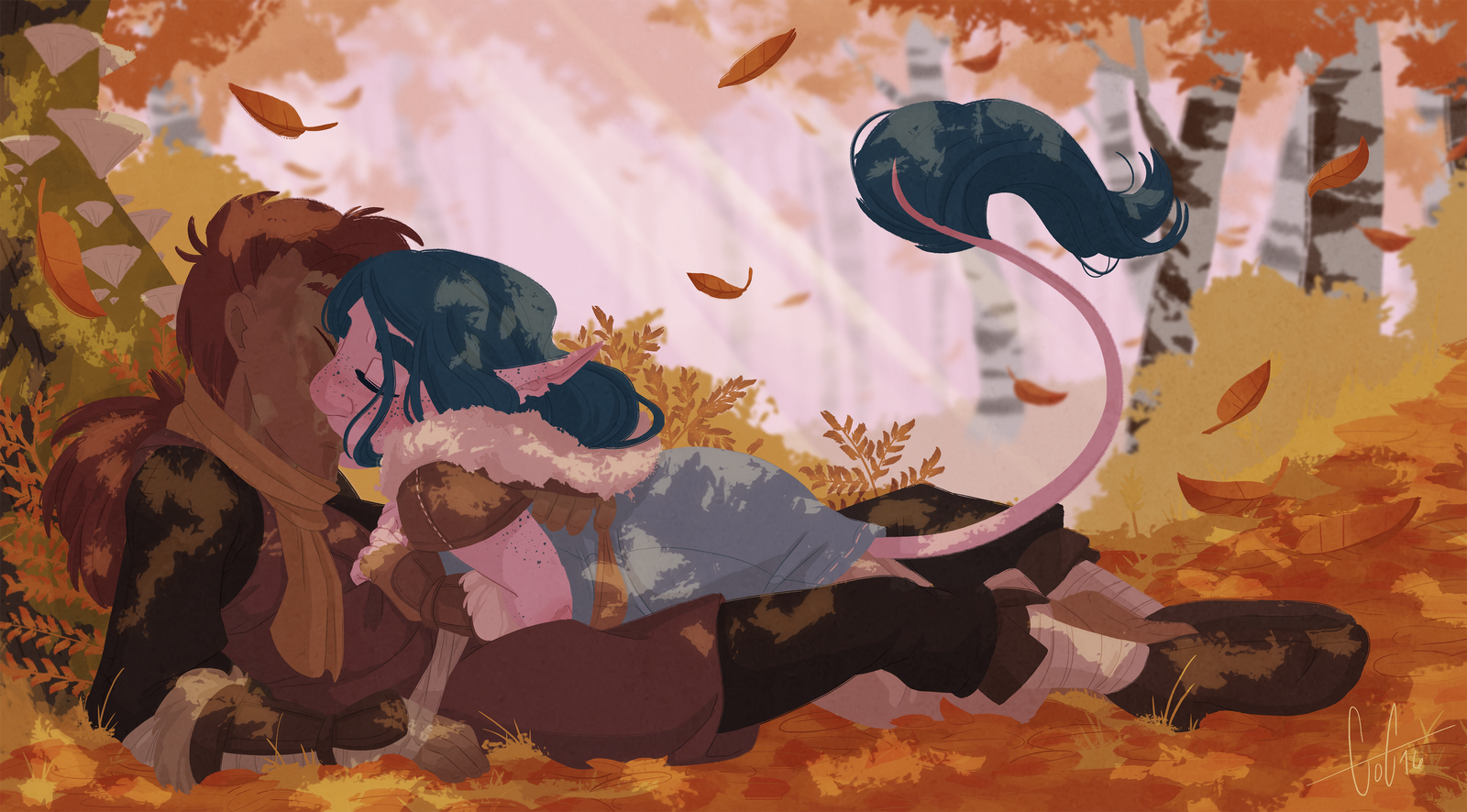 Autumn Is The Most Romantic Season by GreenOverGreen