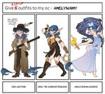 Give Outfits to my OC - Amy 1/5