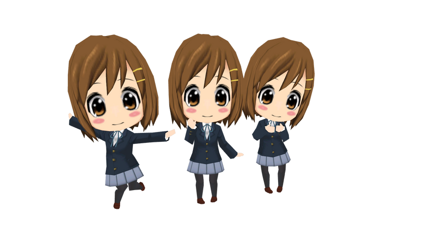K ON Houkago Live Yui Chibi Download By Charlottecheese