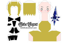 Chibi Vexen Papercraft by toki28