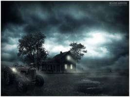 Old Farm House by rdos11