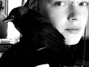 Me and my bird by ScheMerel