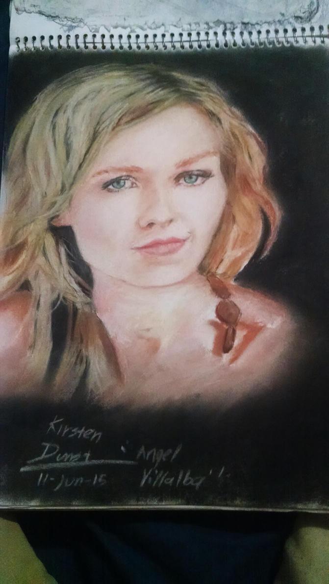 Kirsten Dunst by wizhoodrawer