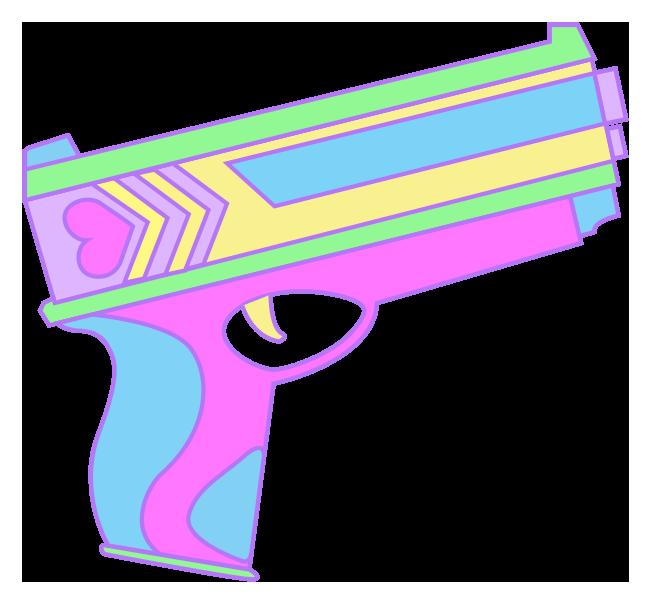 Harajuku Handgun by pinksterluck