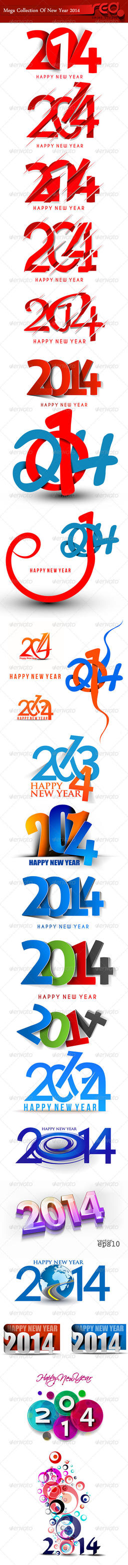 Happy New Year 2014 by Redshinestudio