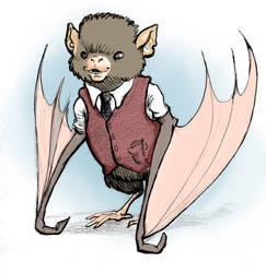 Otis the Office Bat by In-Like-Flynn