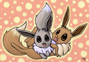 Eevee Duo by bootsa81