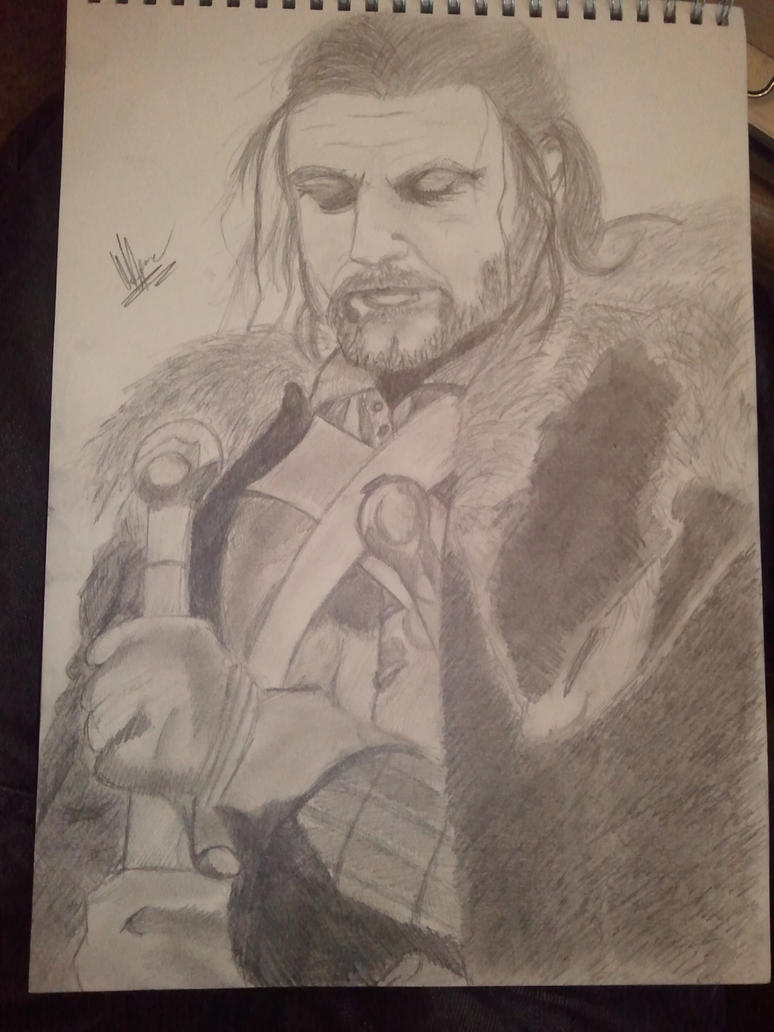 Eddard Stark -  Winter Is Coming Finished by Phoenix-Foot