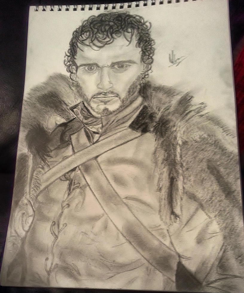 Robb Stark King in the North by Phoenix-Foot