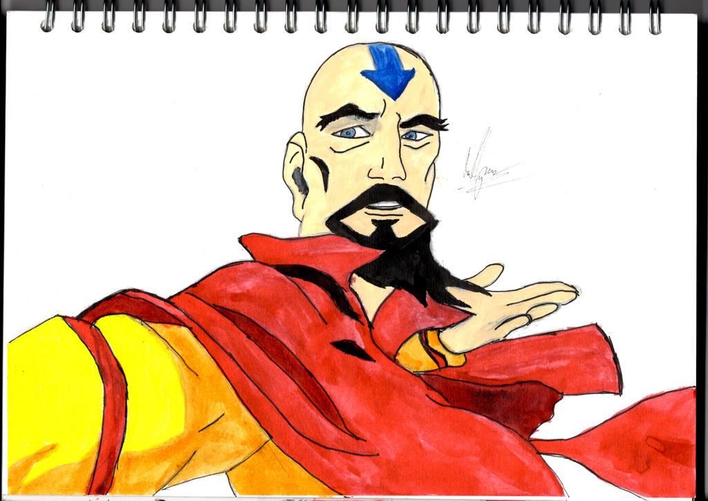 Tenzin Coloured by Phoenix-Foot