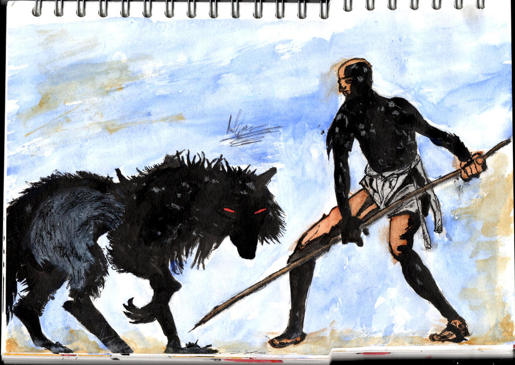 The Boy and the Wolf Scanned in by Phoenix-Foot