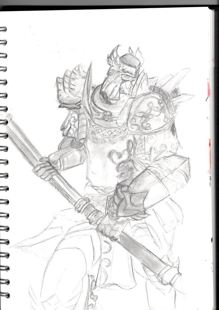 Guild Wars 2 - Pauldrons by Phoenix-Foot