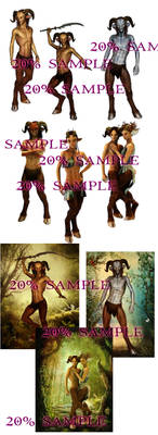 satyr stock exclusive