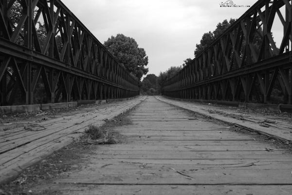 Strange bridge II by mi8k