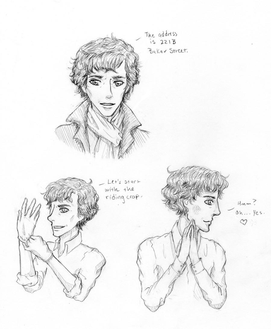 Bbc Sherlock Drawing Bbc- sherlock by orangelion90Bbc Sherlock Drawing