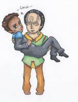 Garak and Bashir by orangelion90