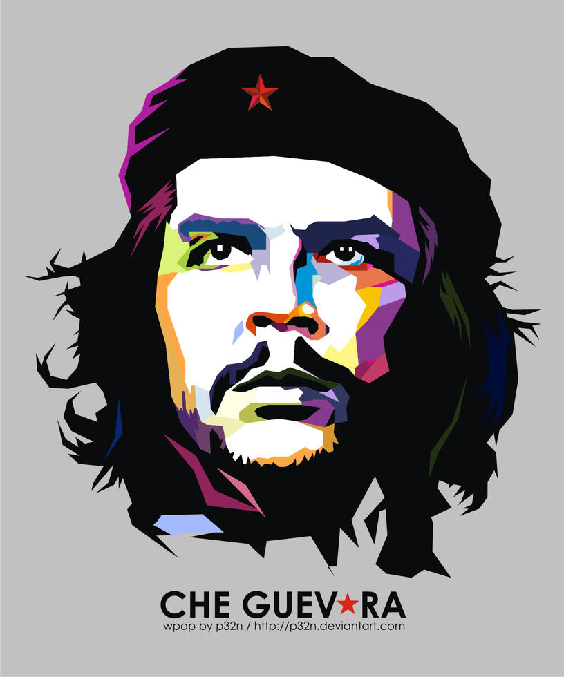 che guevara on wpap by p32n on deviantart. Black Bedroom Furniture Sets. Home Design Ideas
