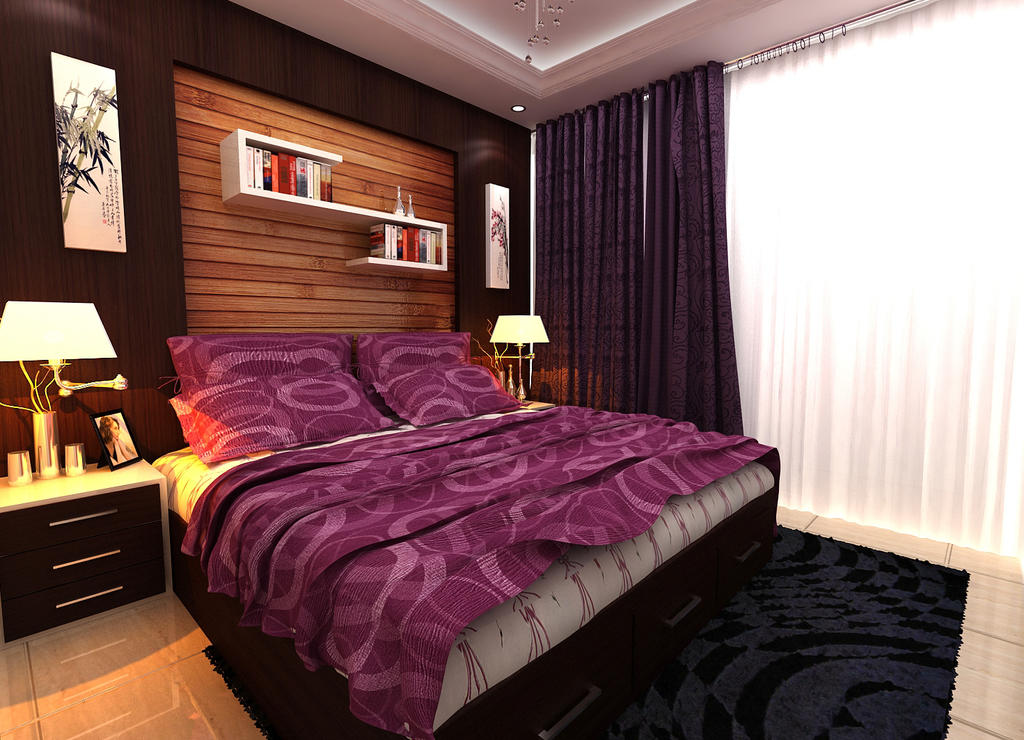 kamar tidur utama by p32n on deviantart