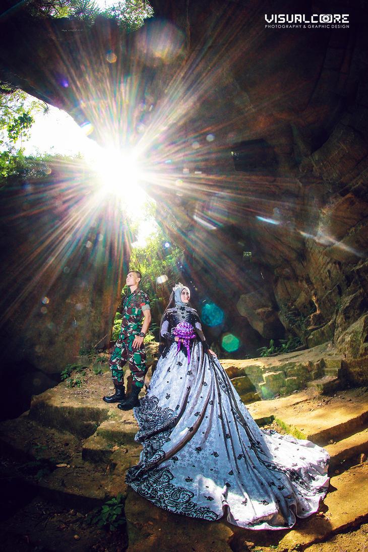 Prewedding Arosbaya  Aermata by p32n