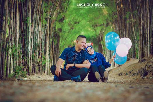 Prewedding  Hutan Bambu Surabaya by p32n
