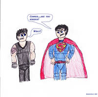 Superboy's relaunch costume by SkinnyZach