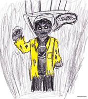 Black Lantern Ma-Ti by SkinnyZach