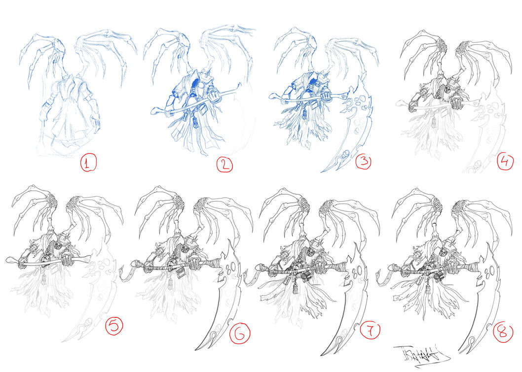 DarkSiders 2-Deaths Reaper Form Tutorial by tsatalas on DeviantArt
