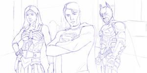 DC Trinity Sketch