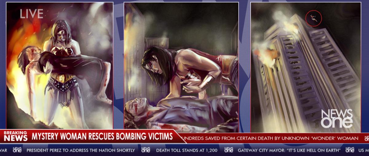 WW Concept - Breaking News by joshwmc