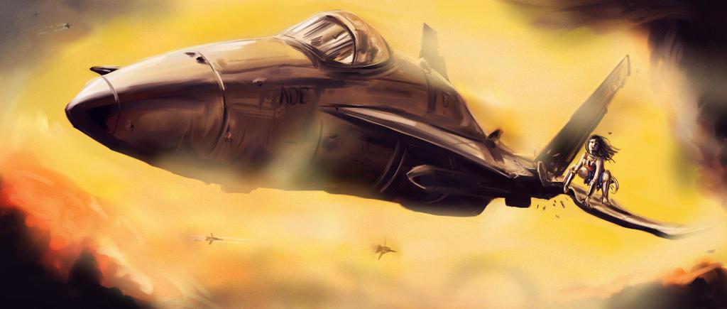 WW Concept - Aerial Battle by joshwmc