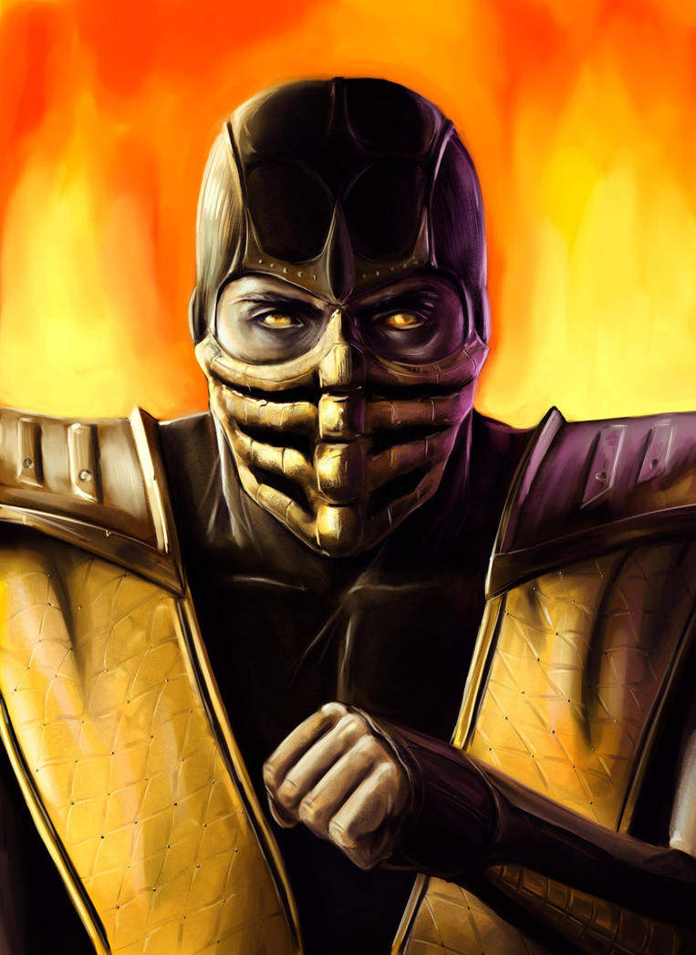 Scorpion Portrait by joshwmc