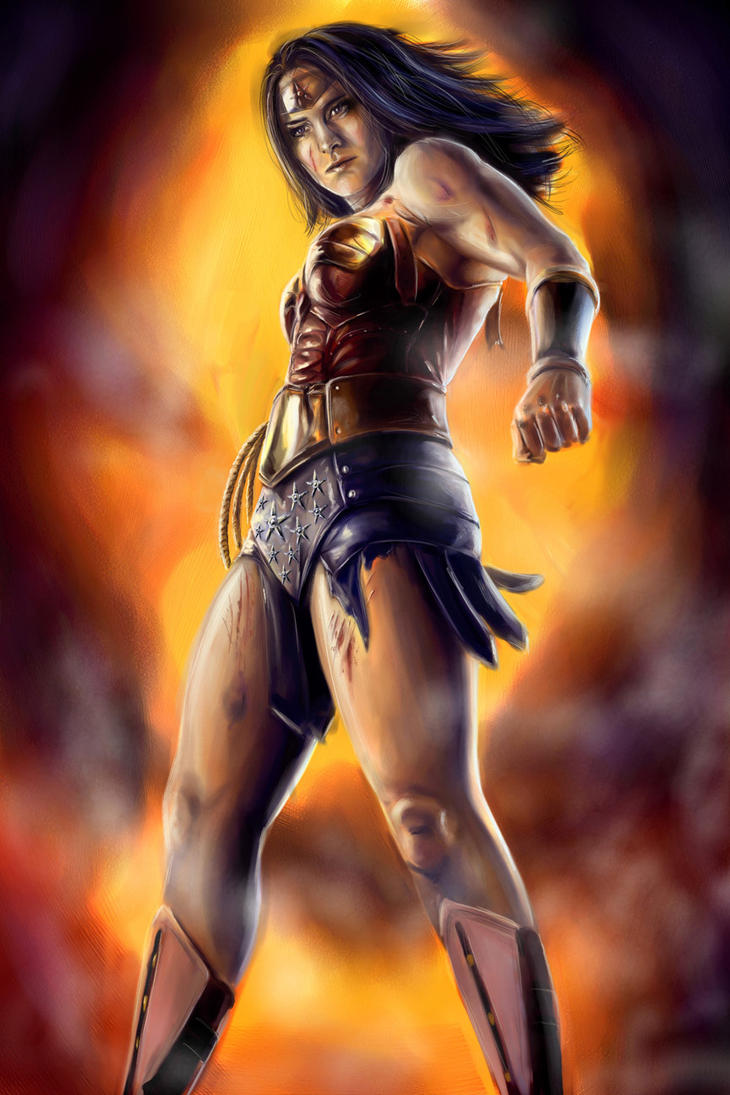 Wonder Woman Illustration by joshwmc
