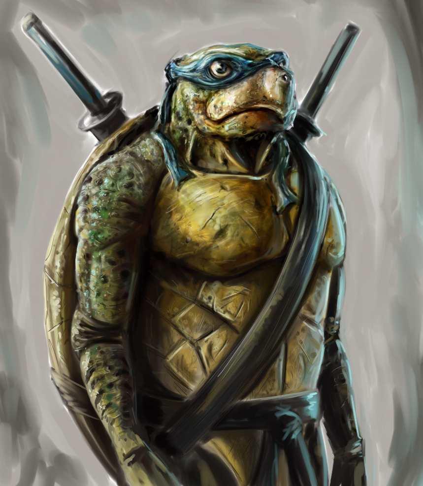 TMNT Concept - Leonardo. by joshwmc