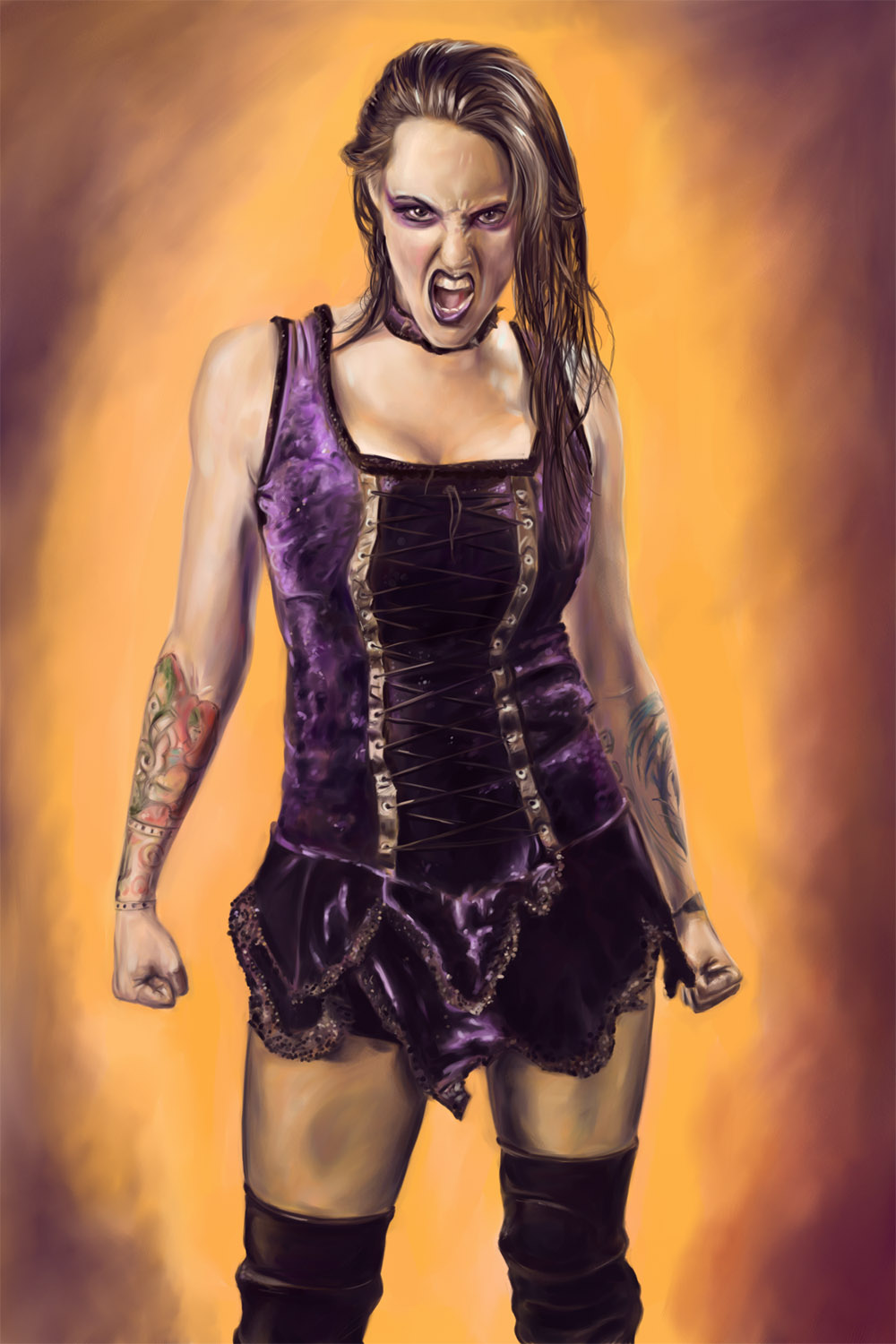 Daffney - TNA Knockout by joshwmc